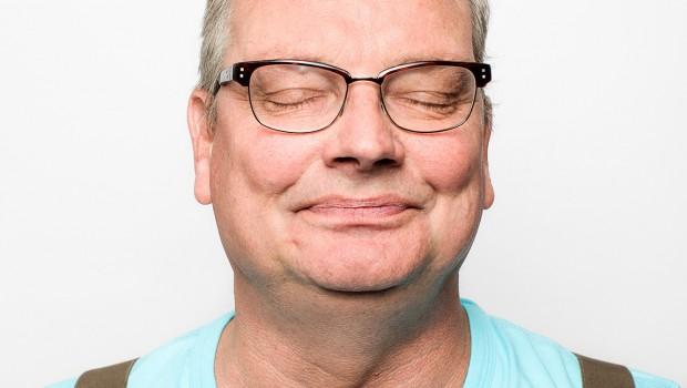 René Gude gefotografeerd door Wim Populier