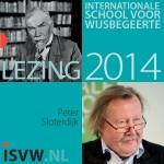 4e Van Eedenlezing - Peter Sloterdijk (2014)