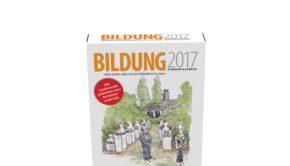 Bildungsscheurkalender 2017 liggend