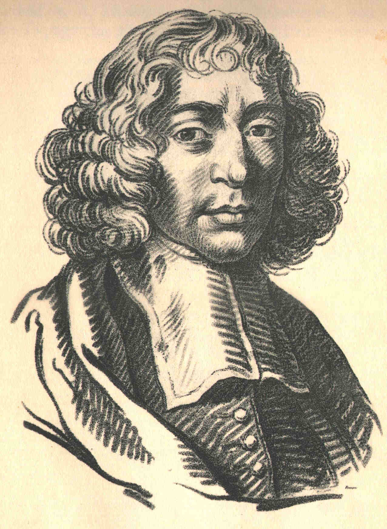 Spinoza-tekening